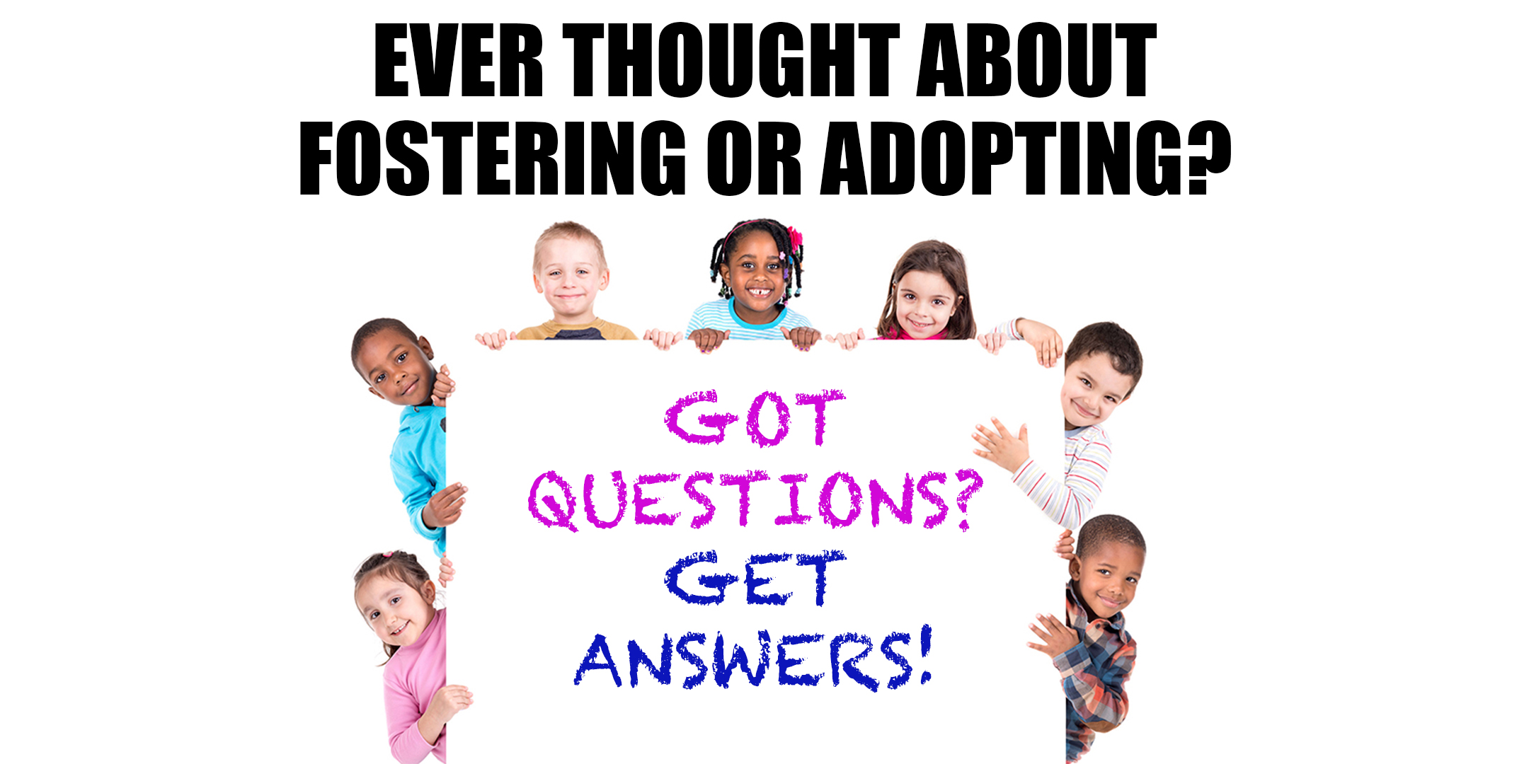 Ever thought about fostering or adopting?