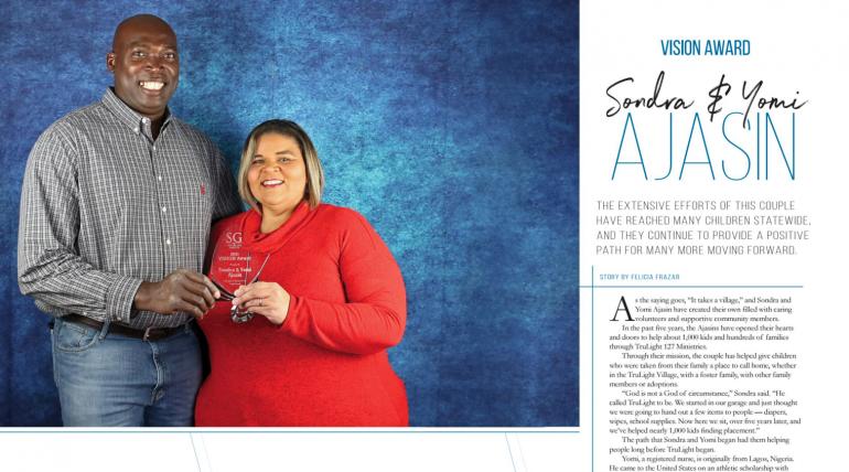 TruLight Founders, Seguin Gazette 2021 VISION Award Winners