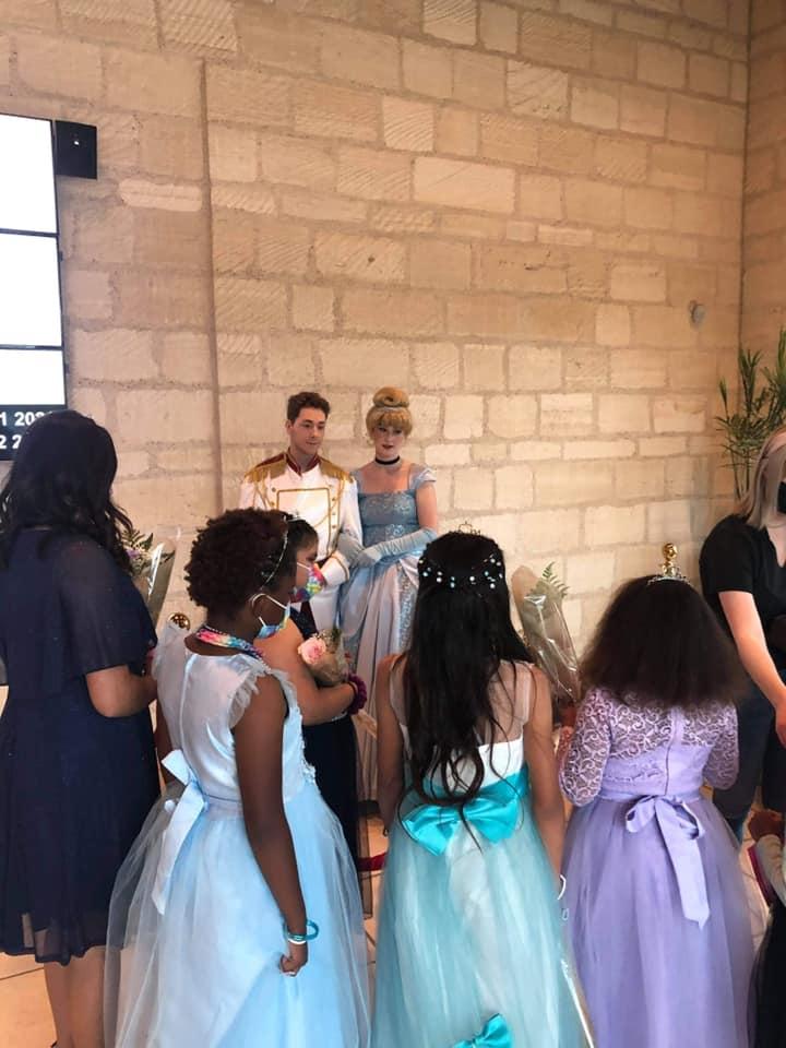 """Foster Children enjoying """"Cinderella Live"""" show"""
